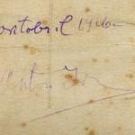 Anton Irve originaalallkiri 1916. aastast